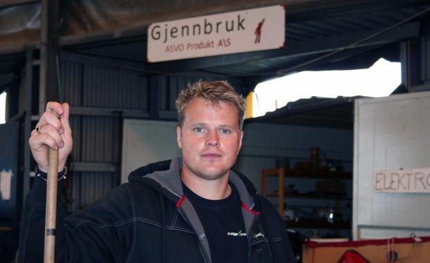 Espen Skrede Høidal er driftsleiar ved Miljøkvalitet.