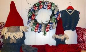 Juleutstillingane tar form på Aure. Ved Nøstekroken er dei klare..
