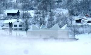 Ikornnes kyrkje. (Foto: Hanne Suorza)
