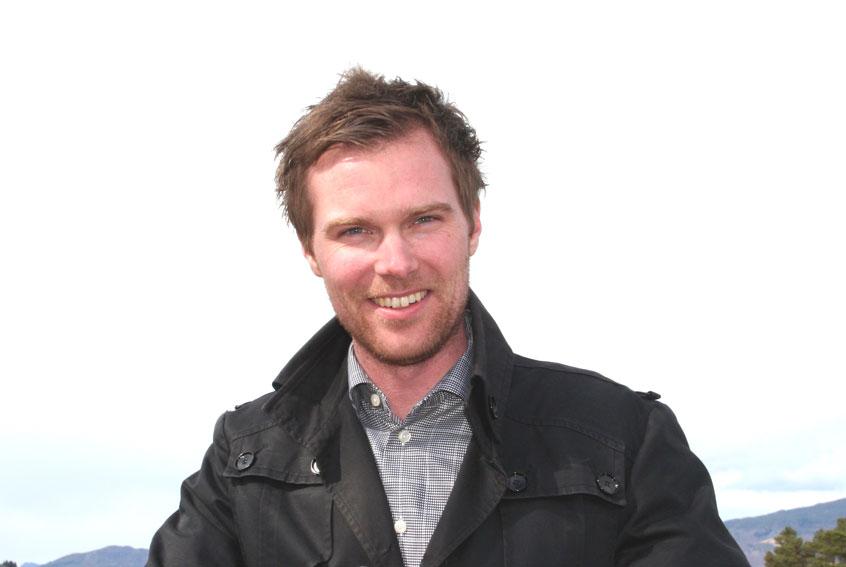 harald Espeland er dagleg leiar i Sykkylven Næringsutvikling. Han arbeider med etablering av nytt Inspirasjons- og kompetansesenter i Sykkylven. (Foto: Hanne Suorza)