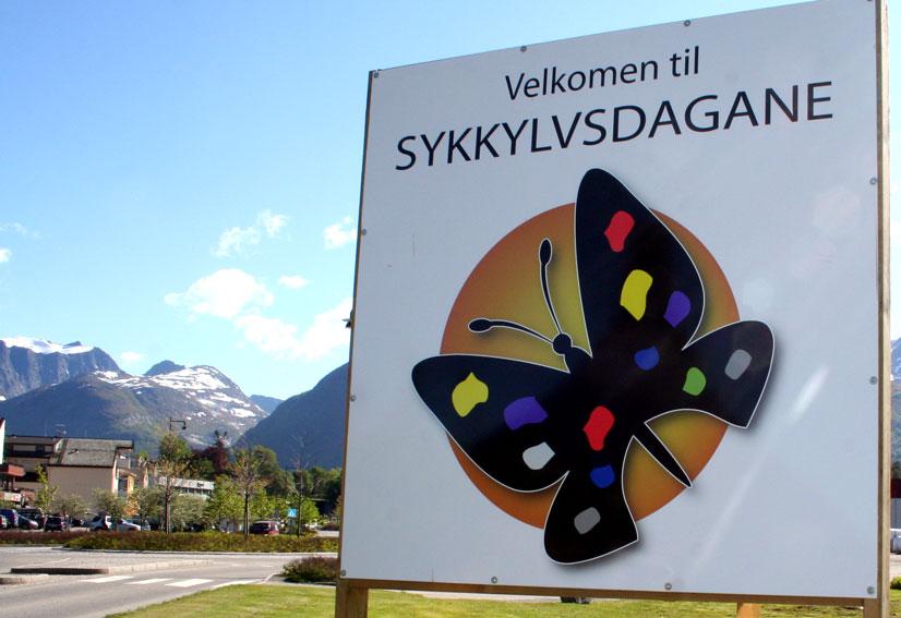 Sykkylvsdagane opnar i dag, onsdag 12. juni. (Foto: Hanne Suorza)