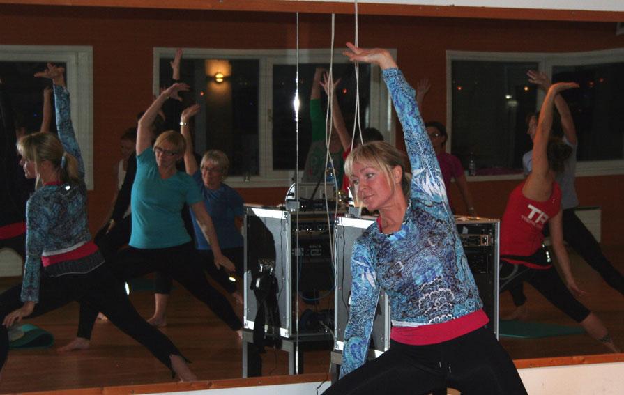 - Vi er heldige i Sykkylven som har mange treningsmoglegheiter, både på Stamina og i idrettsforeiningane, seier Monika som meiner det er viktig å samarbeide for å få flest mogleg ut av godstolen. (Foto: Hanne Suorza)