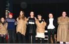 Juba teater: Vilde Selsbakk Skogseth, Johanne Hjordal, Charlotte Gulla Tandstad, Amanda Sofie Bolstad Østro, Ine Velle Nerhus, Frida Sofie Bjørneseth Lade og Inga Therese Strøm Årdal.